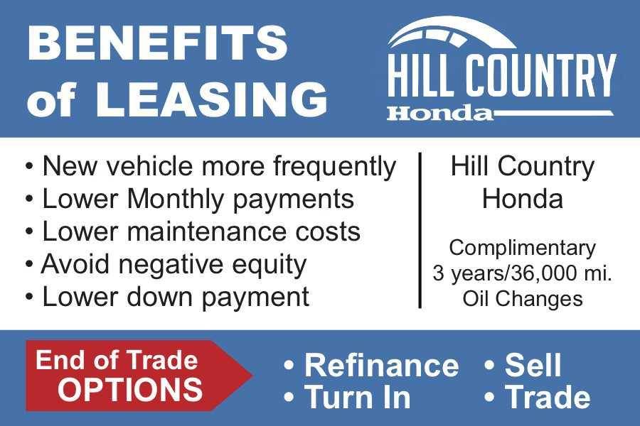 Benefits of Leasing