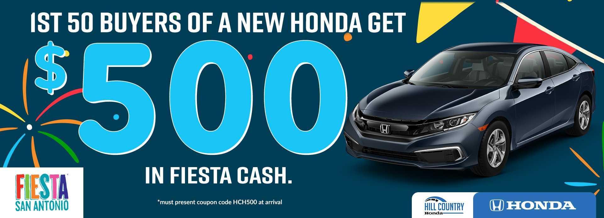 Fiesta Cash 2019 Honda Dream Garage