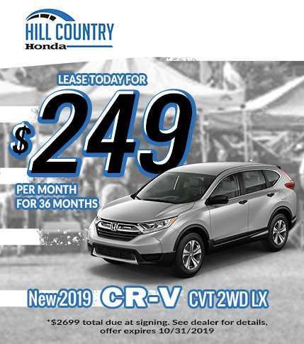 2019 Honda CRV Specials