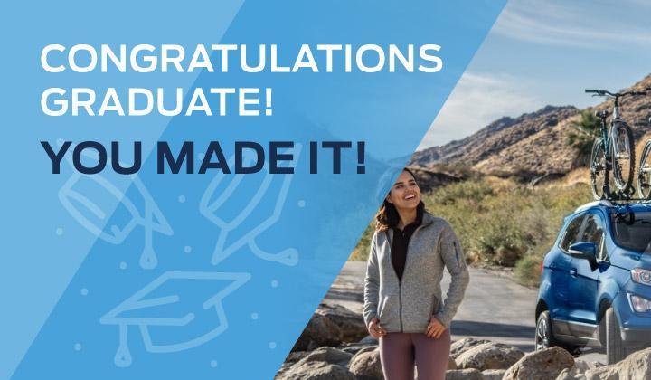Congratulations graduate! You made it!