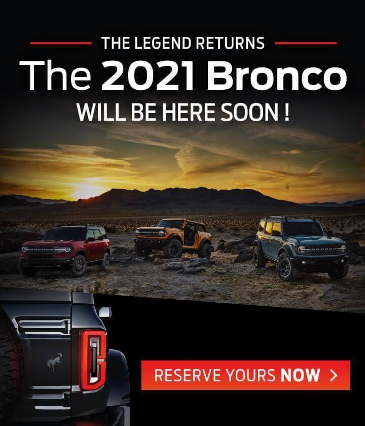 2021 Bronco
