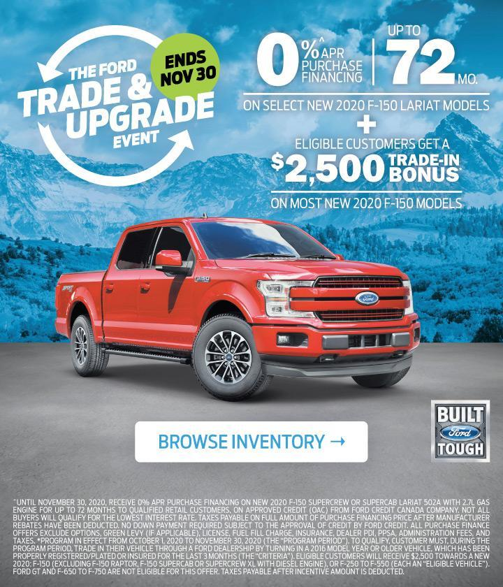 Trade and Upgrade Event