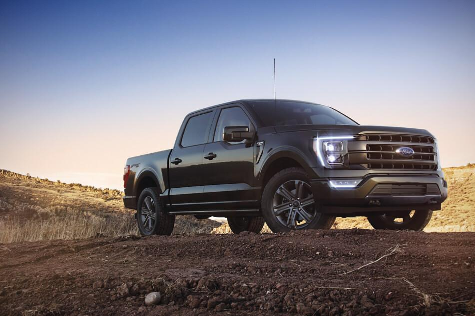 Ford Schedule a Test Drive 2021 F-150