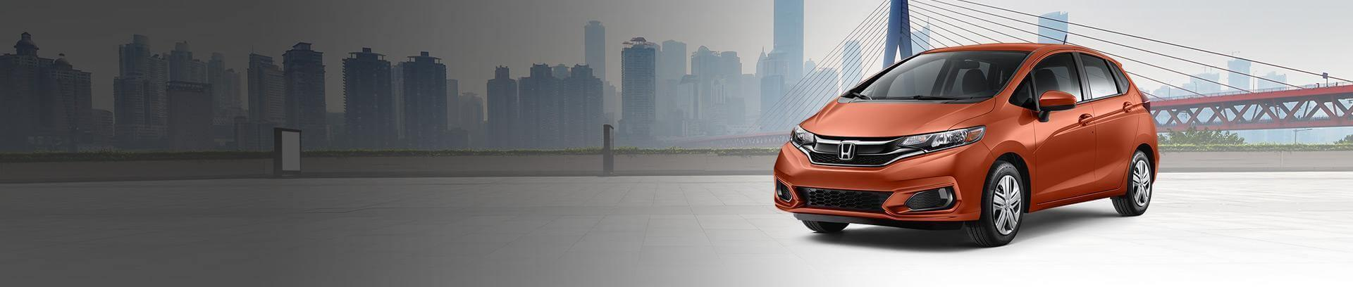 2019 orange honda fit