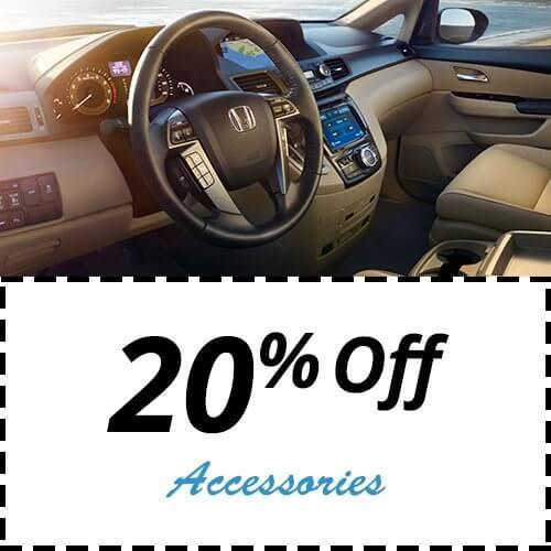 20% off accessories - service & parts special