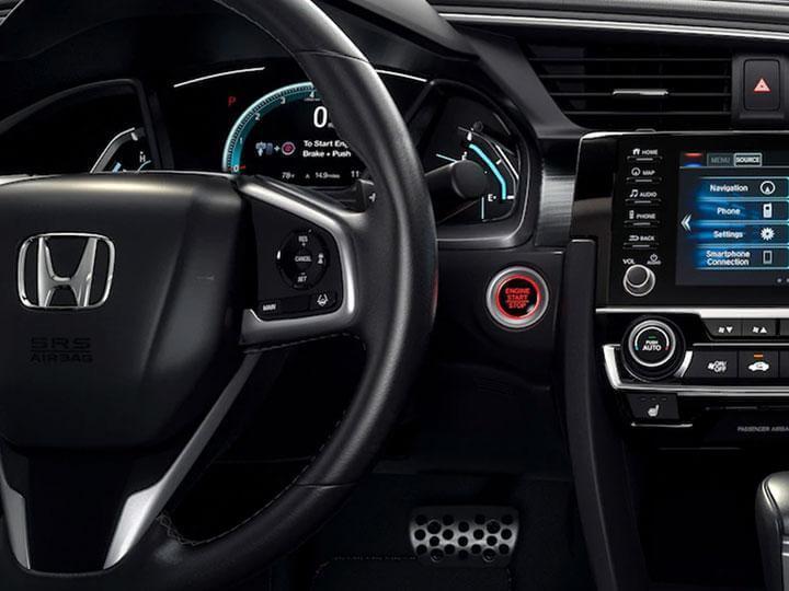 honda interior steering wheel 2019