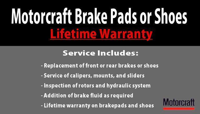 Motorcraft Brake Pads or Shoes image