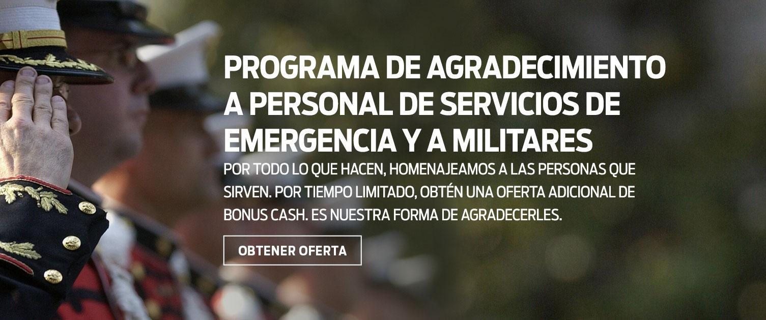 Military & First Responder Offer