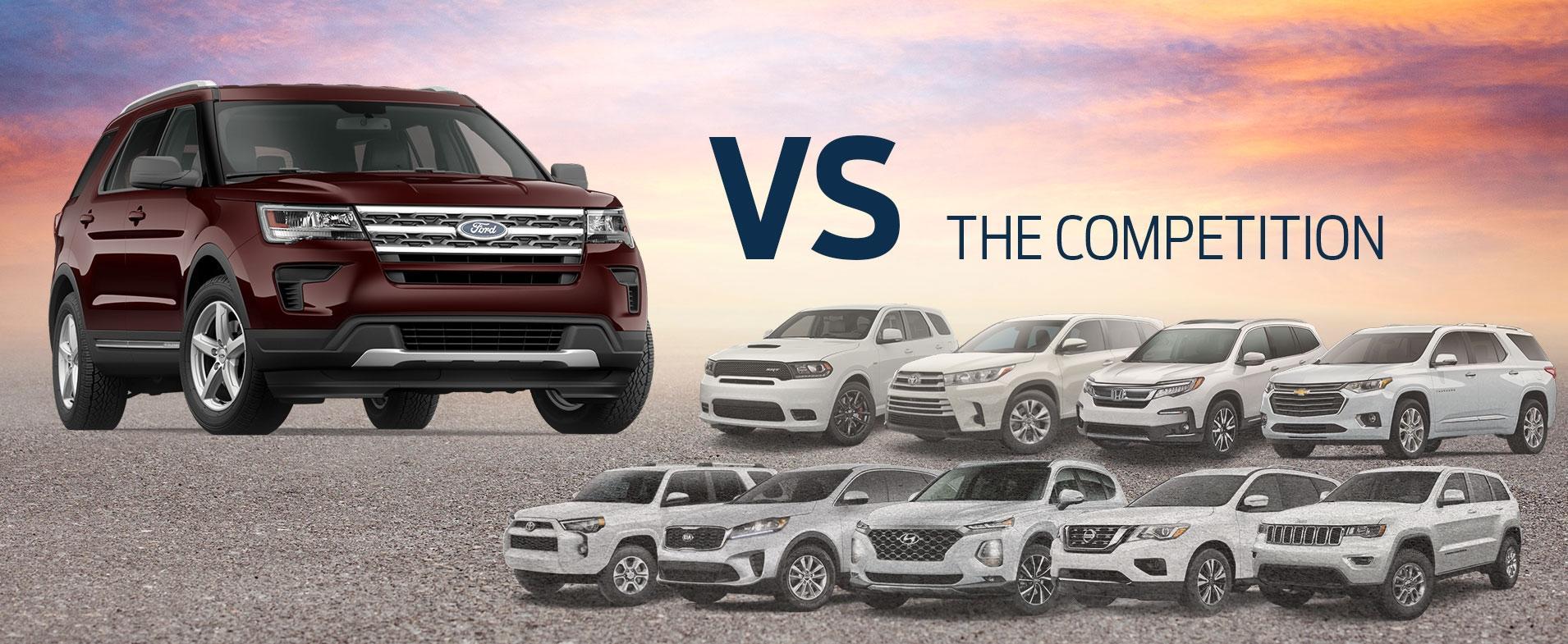 Explorer vs Competition
