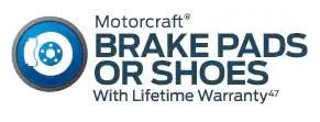 Motorcraft Brake Pads or Shoes