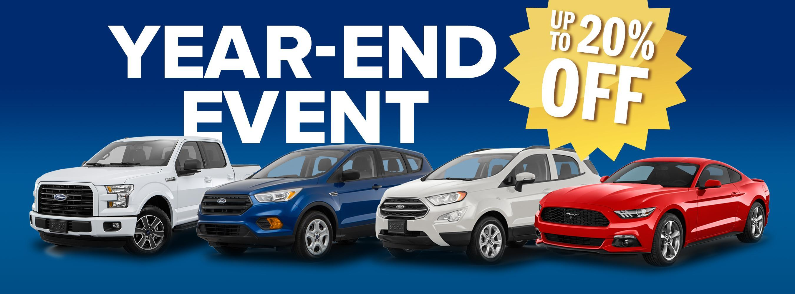 20% Off Year-End Event