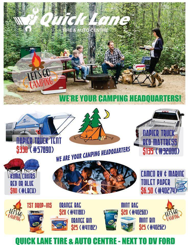 Camping Specials