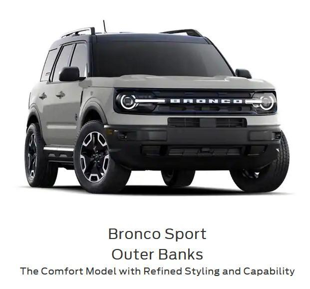 2021 ford bronco sport outer banks series drayton valley ford alberta