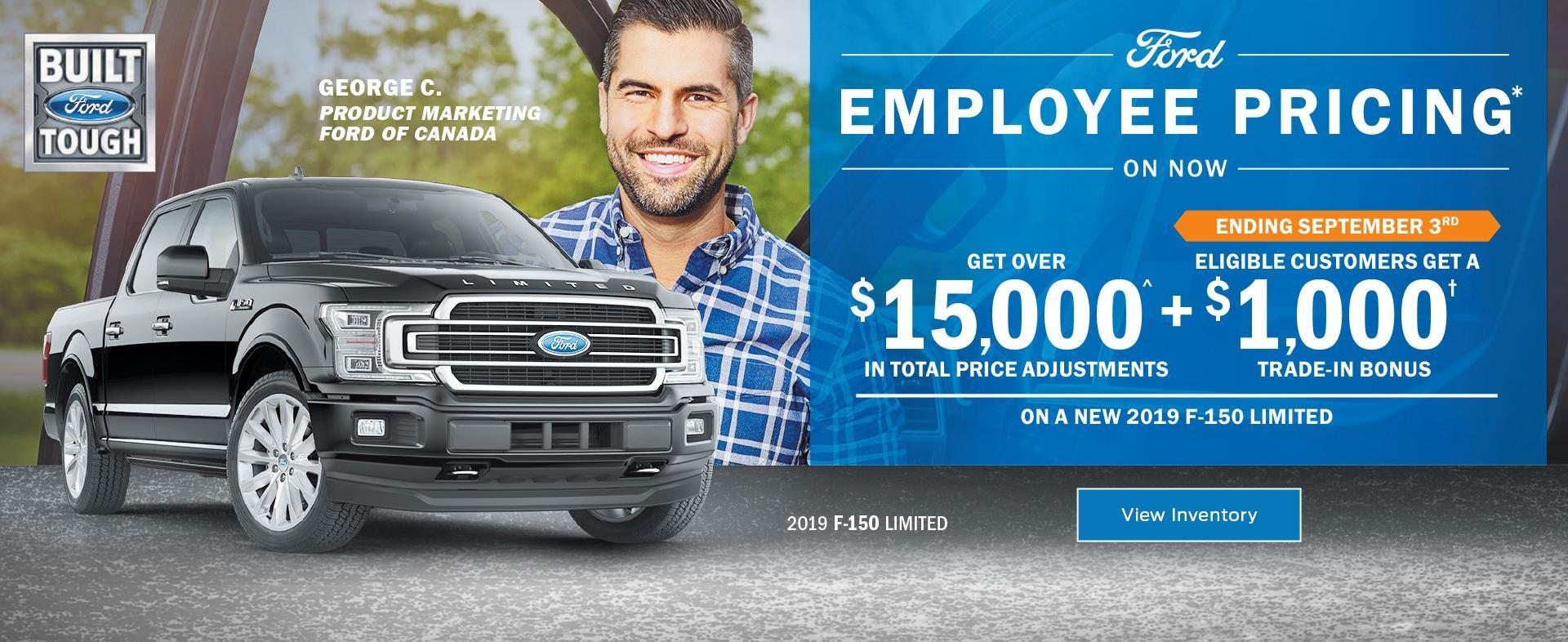 FEP F150 Offer Drayton Valley Ford