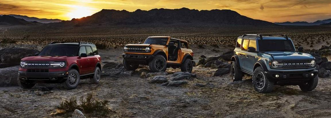 all new 2021 ford bronco family at drayton valley ford alberta
