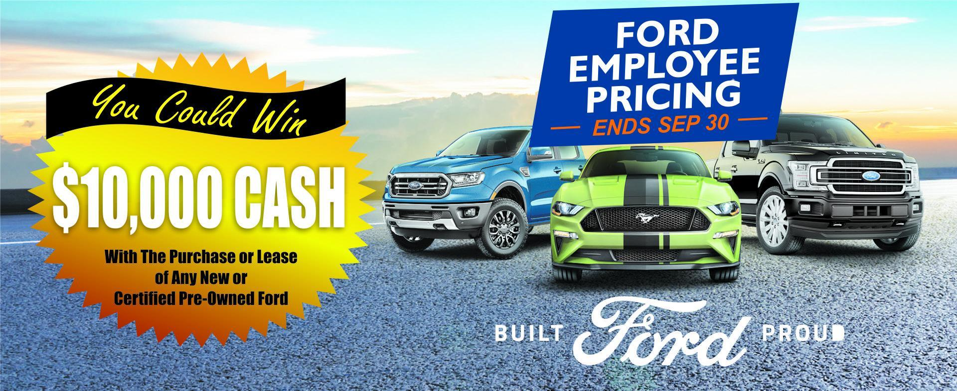 FORD EMPLOYEE PRICING EVENT DRAYTON VALLEY ALBERTA