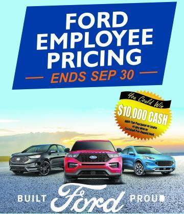 FORD EMPLOYEE PRICING EVENT DRAYTON VALLEY ALBERTA FORD