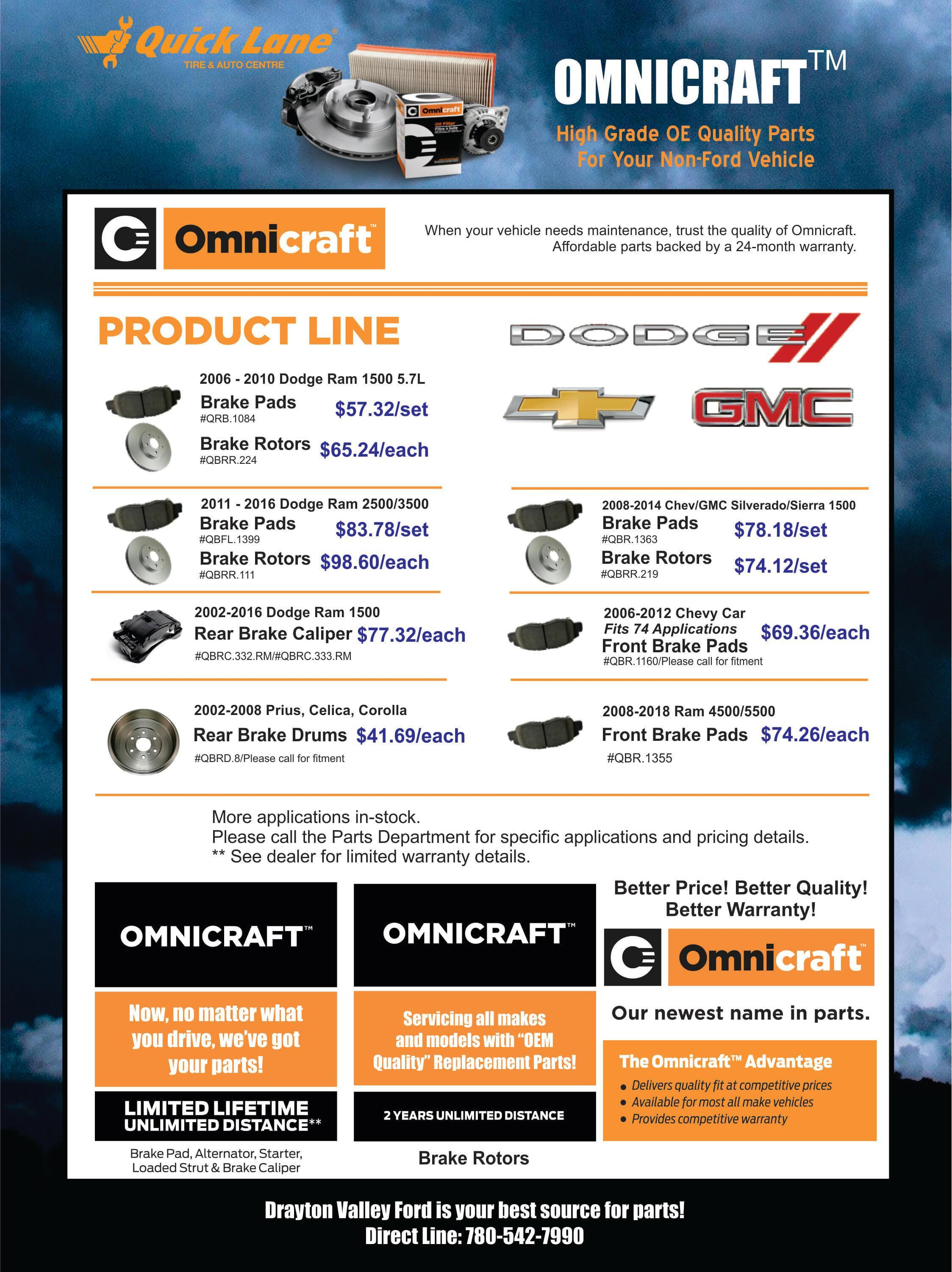omnicraft march 2019 retail flyer