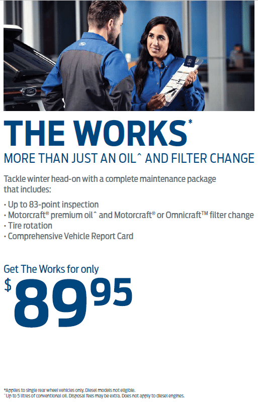 The Works Service at 89.95