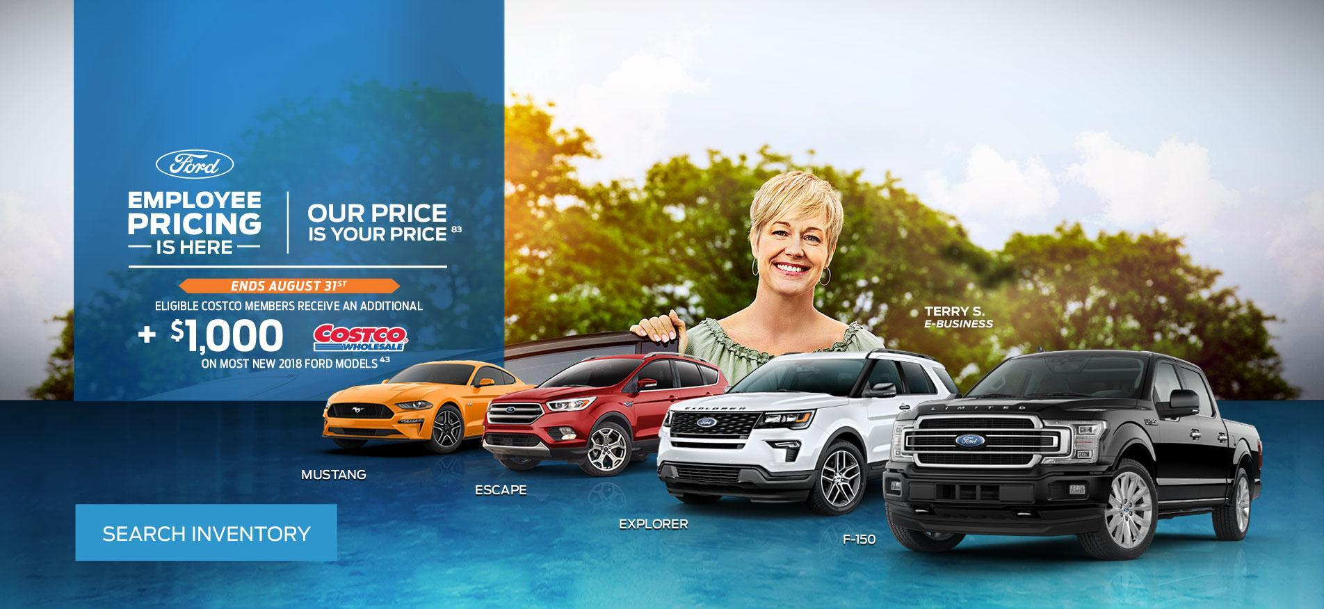 Cambrian Ford Employee Pricing