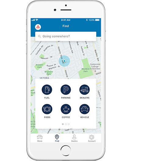The FordPass app