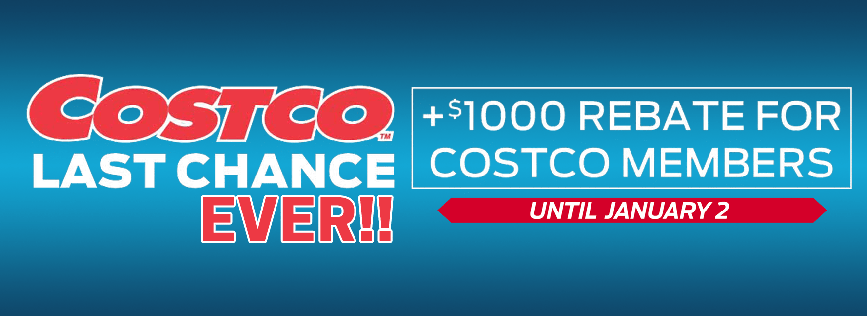 2018 Year End Clearout! Costco Members Save $1,000