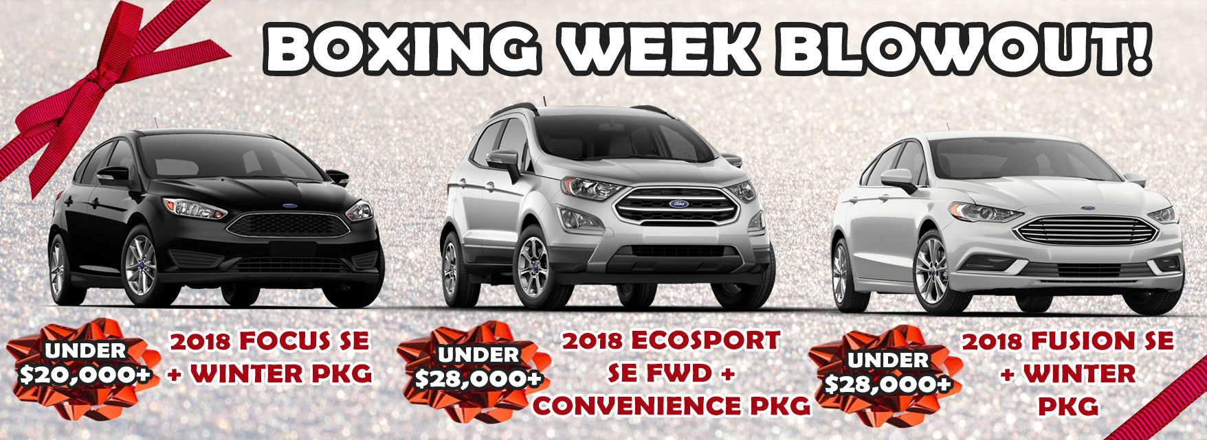 Rose City Ford Boxing Week Sale