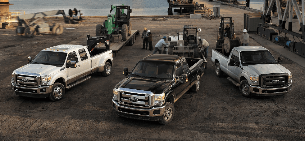 F-Series Super Duty Trucks