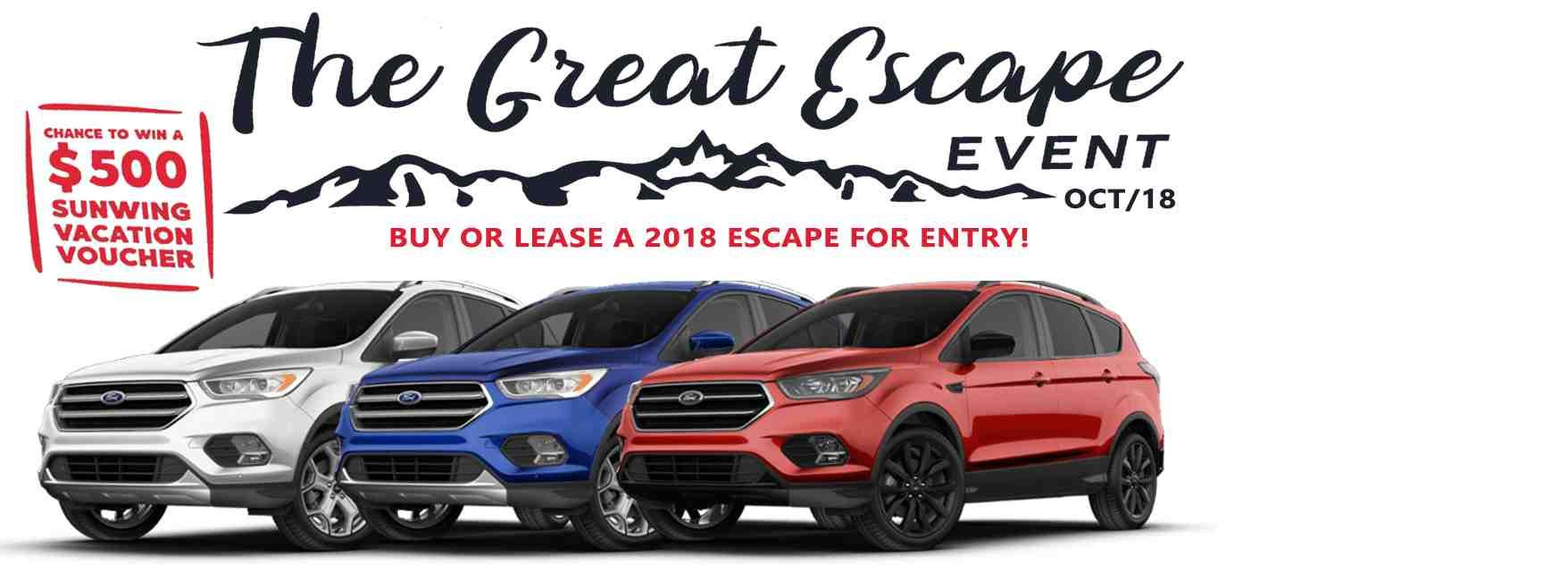 2018 Escape | Rose City Ford | Windsor Ontario