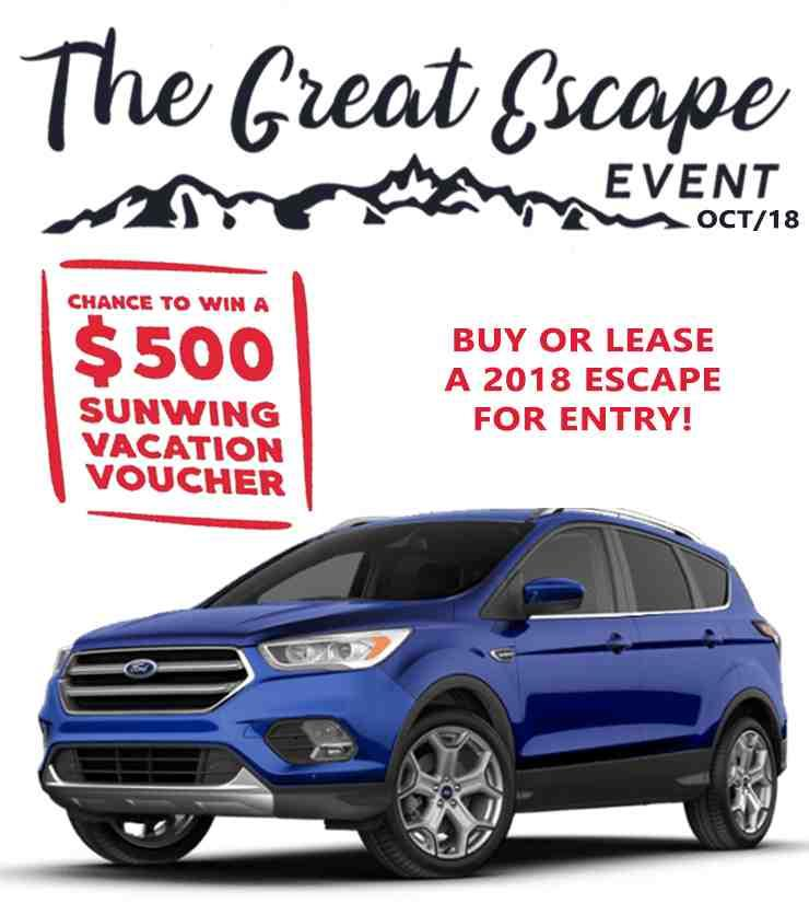 2018 Escape Event | Rose City Ford | Windsor, Ontario