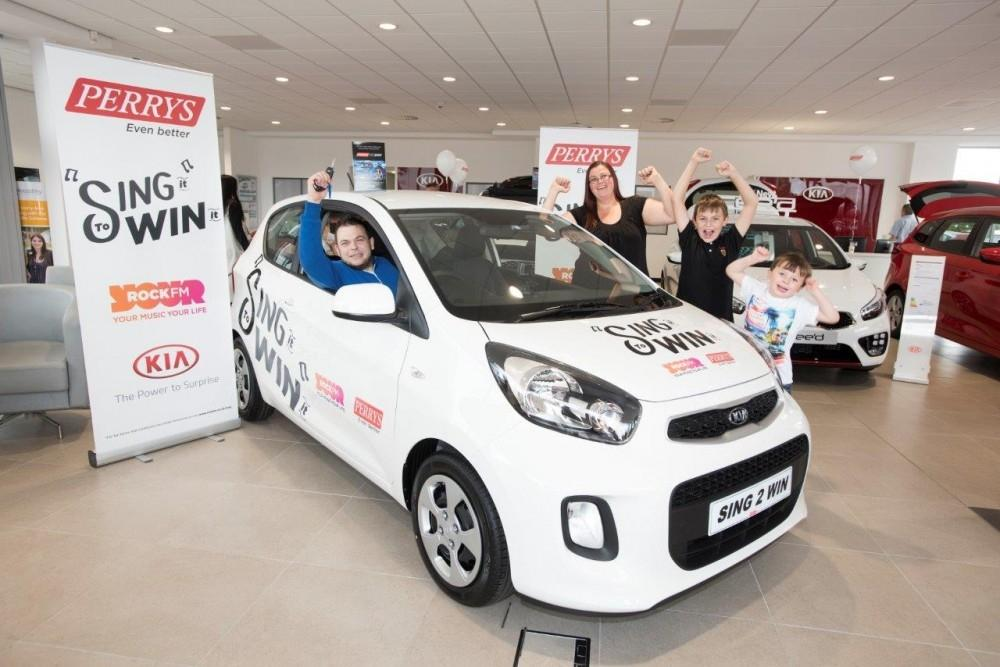 Prizes Galore At New Perrys Motor Village
