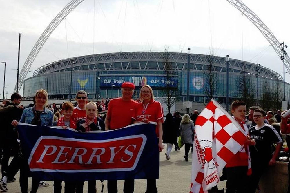 Perrys spotted at Wembley! This week on Facebook.