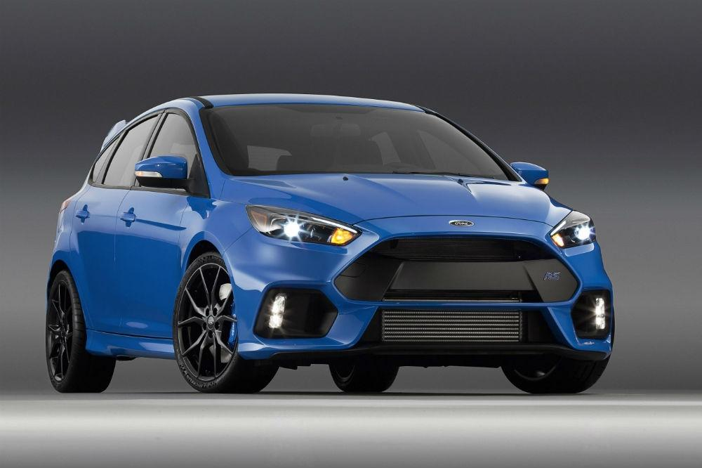 See the Ford Focus RS in Action Ahead of it Goodwood Debut