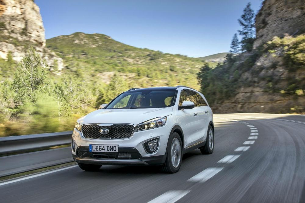 Specifications Revealed for New Kia Sorento