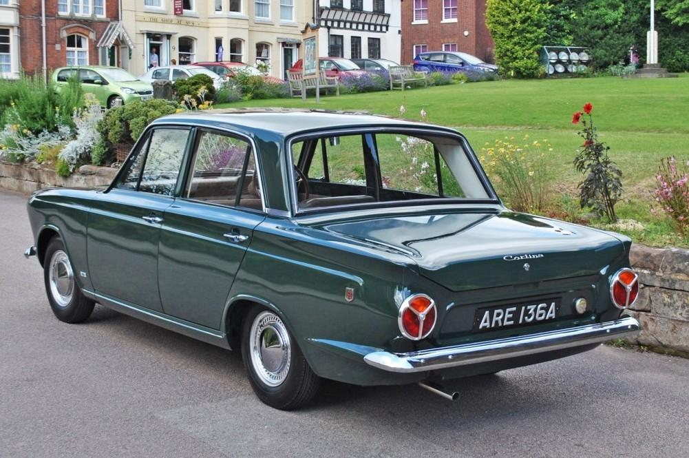What A Beauty This Mk.1 Ford Cortina Is!
