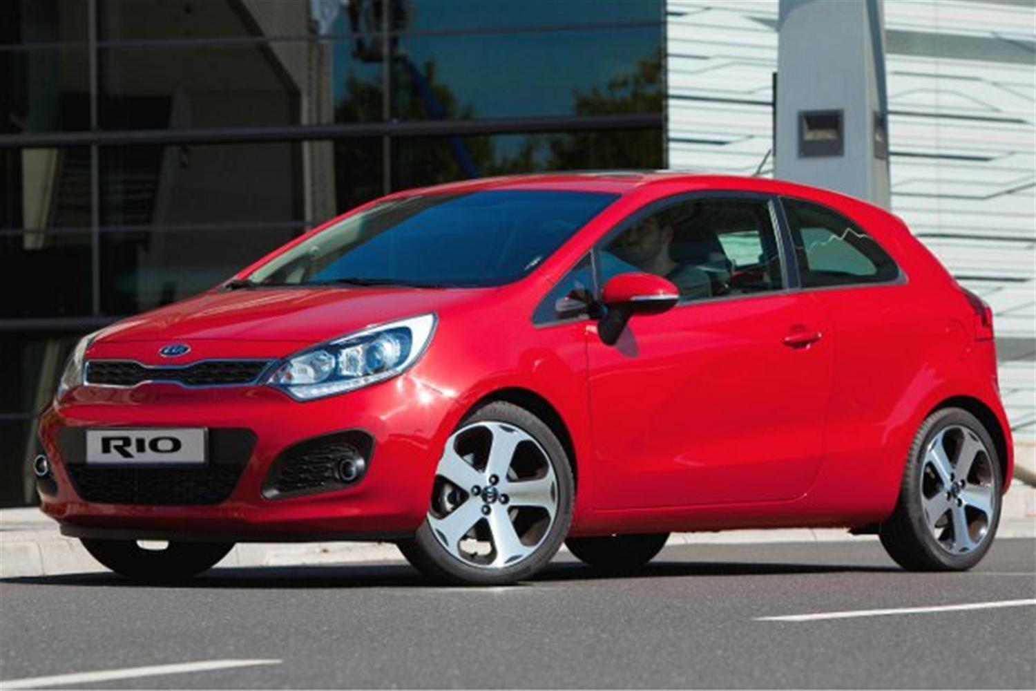 Kia Rio Scores 5 Stars in Latest Euro NCAP Test