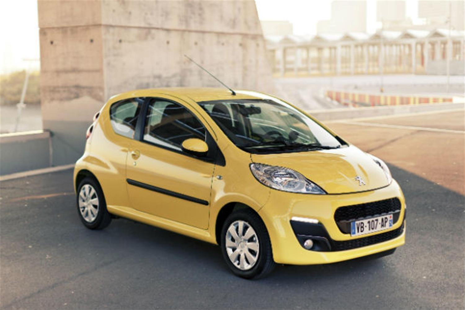1st Look at the New 2012 Peugeot 107