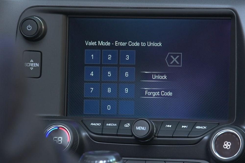 Chevy adds new Valet Mode Security System