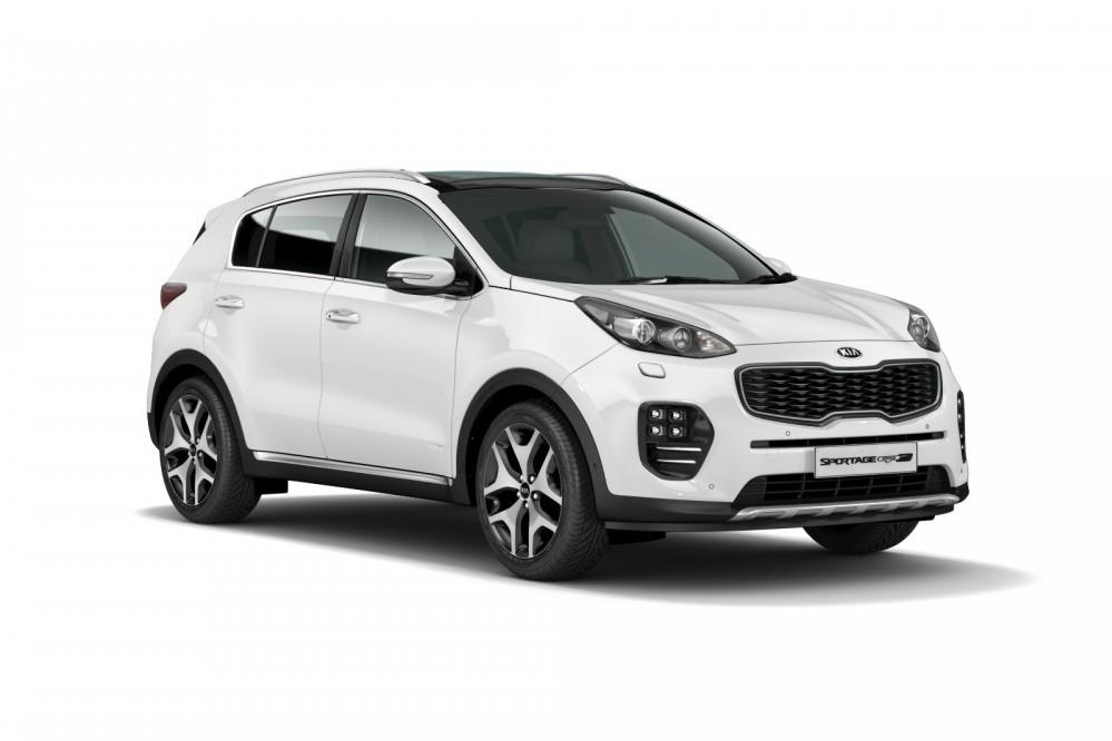 Ring in the changes for the Kia Sportage