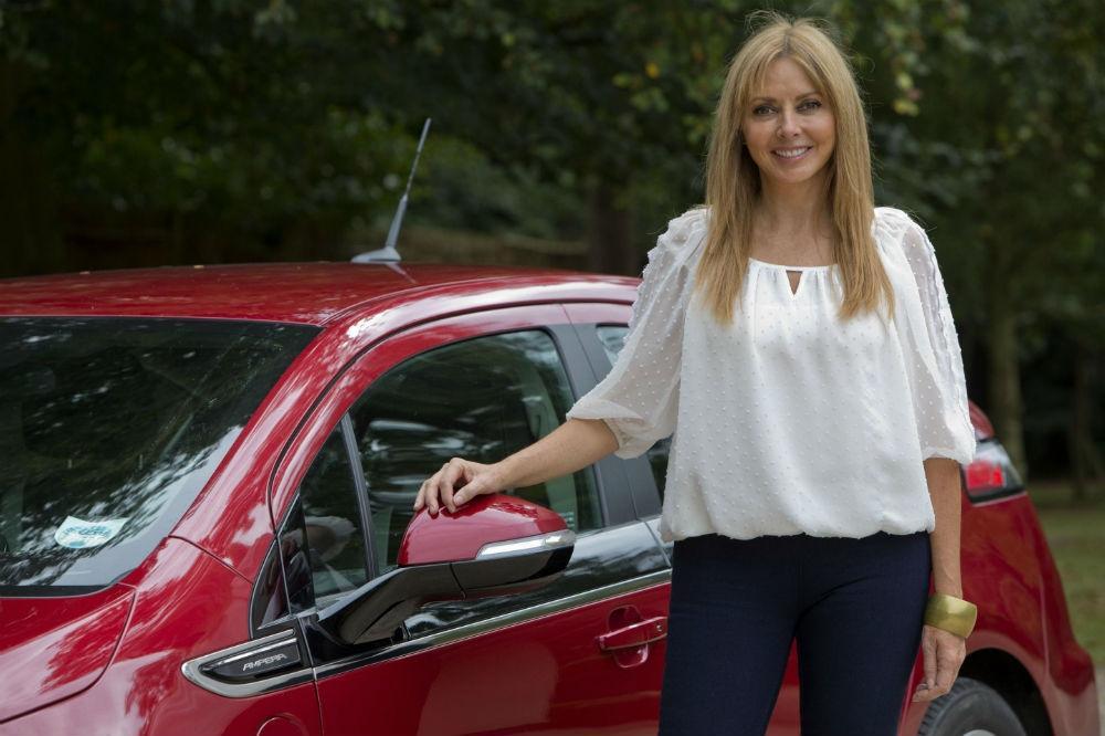 Carol Vorderman Goes Green with Vauxhall Ampera