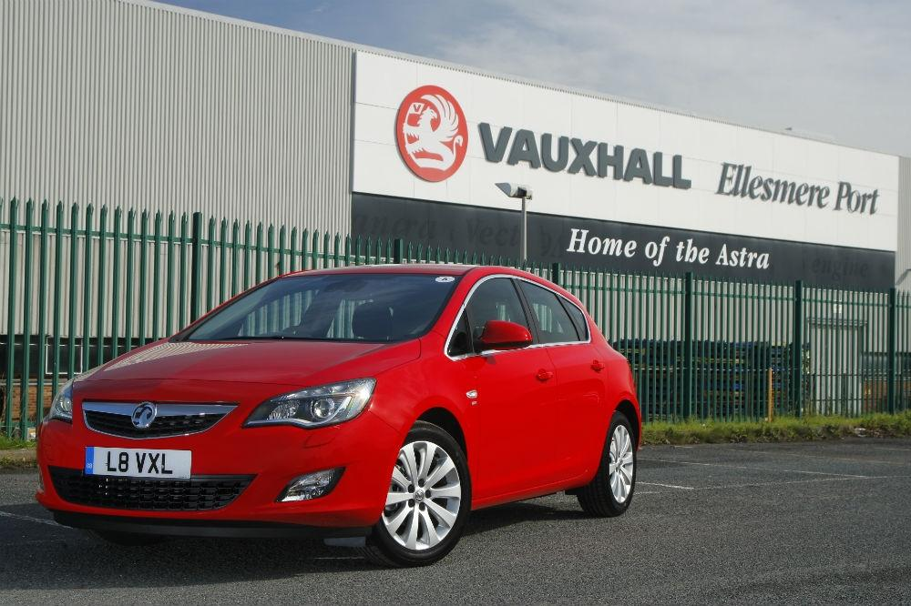 Vauxhall Receives Community Spirit Award