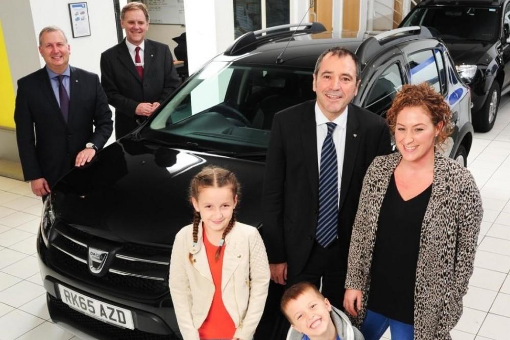 3,500,000th Global Dacia Customer