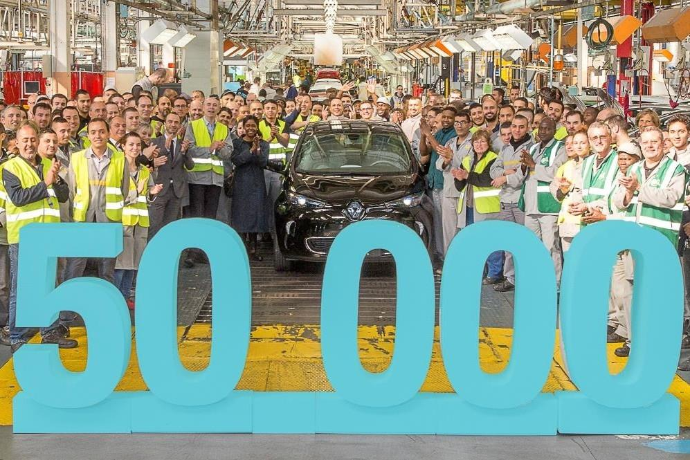 50,000th Renault ZOE is Made