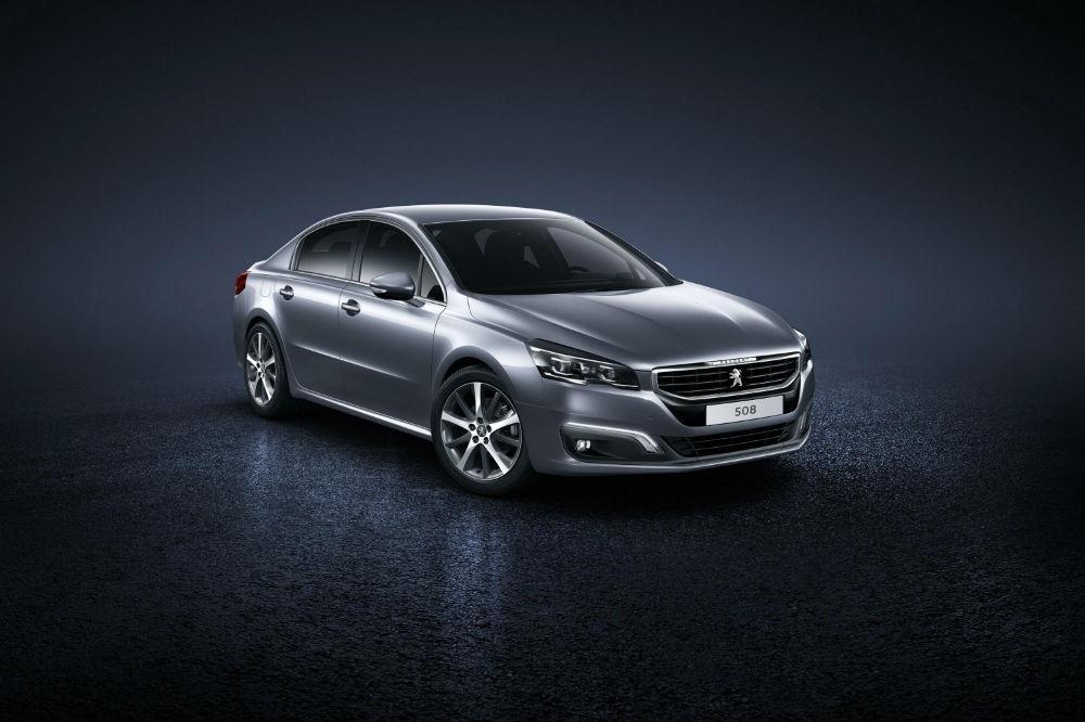 Peugeot Unveils 508 Face Lift