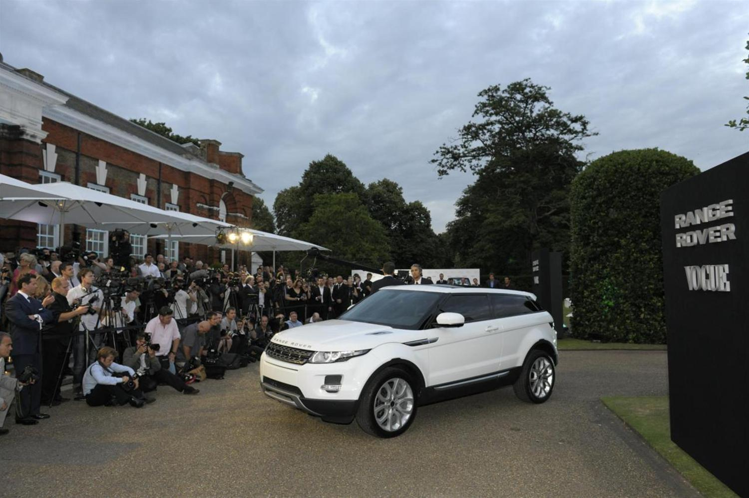Everything you need to know about the Range Rover Evoque