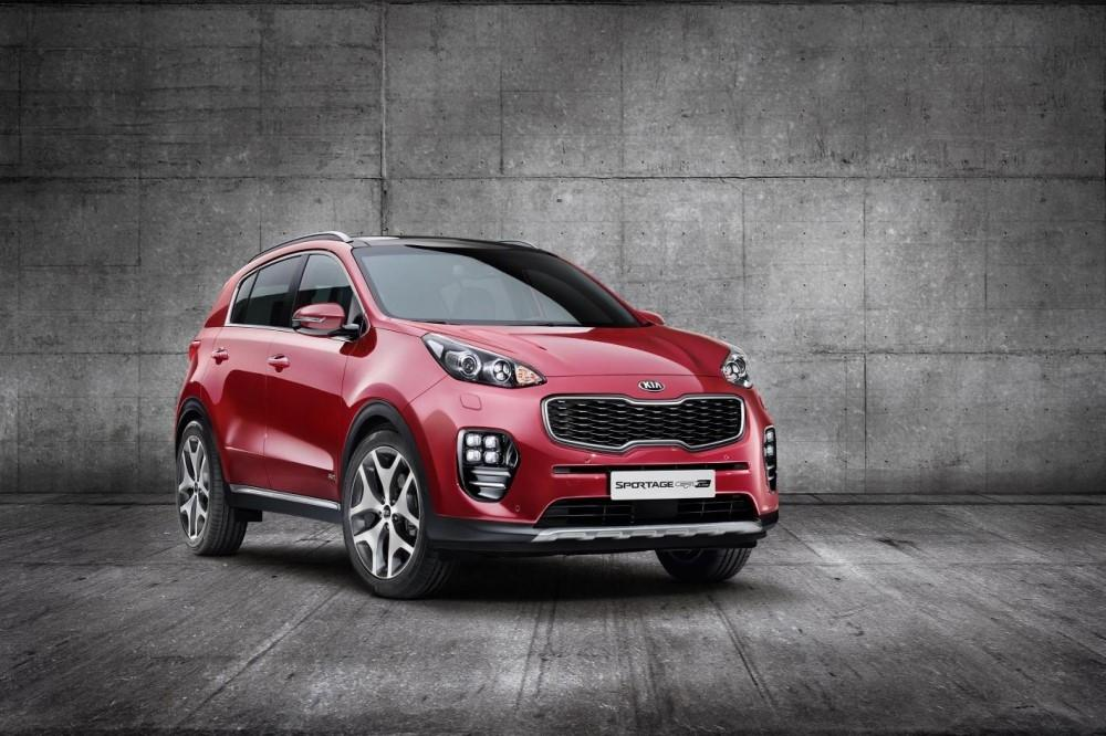 The 1st Images of the ll-new Kia Sportage