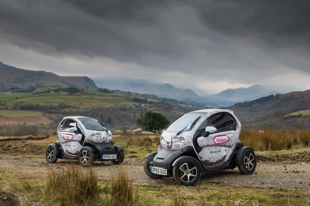 Renault Twizy Helps Preserve Lake District