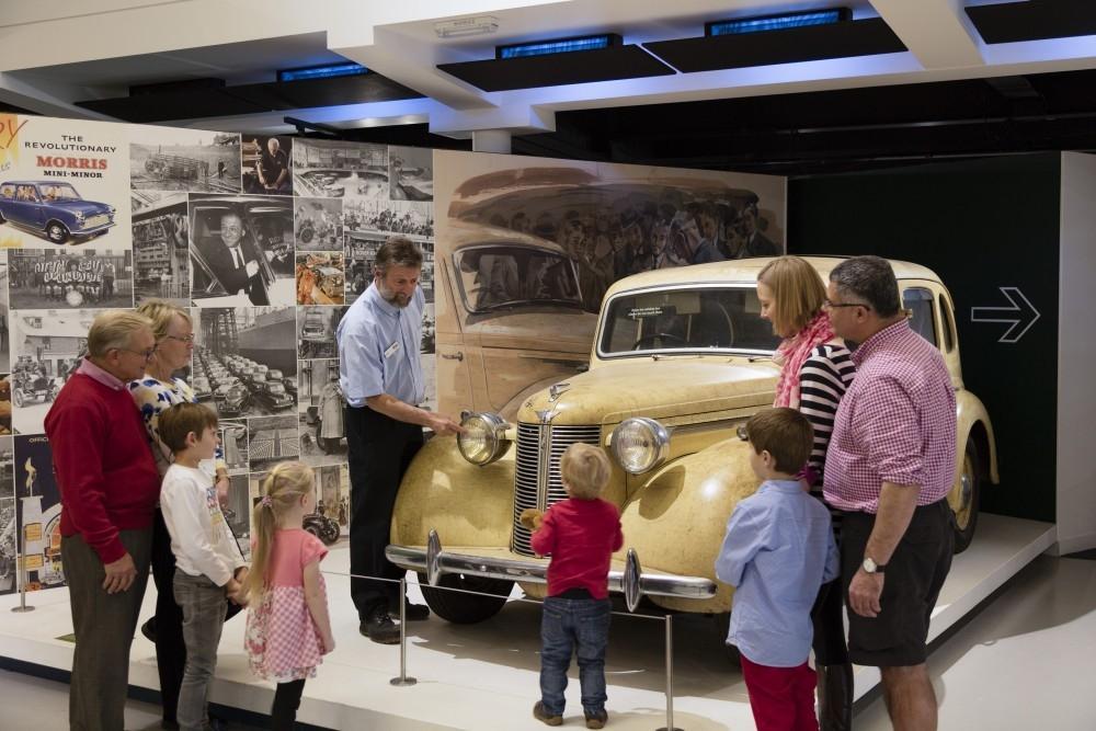 British Motor Museum Re-Opens