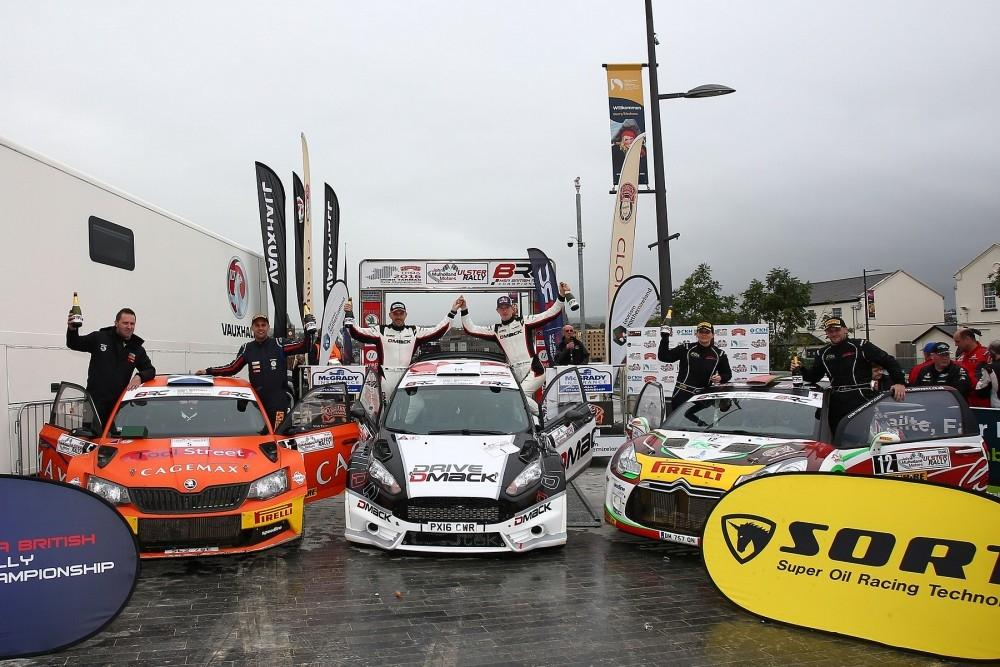MSA British Rally Championship Title Achieved