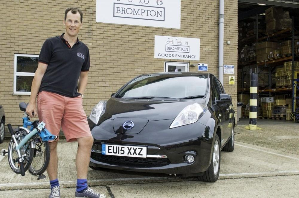 Brompton goes Bonkers for Nissan LEAF